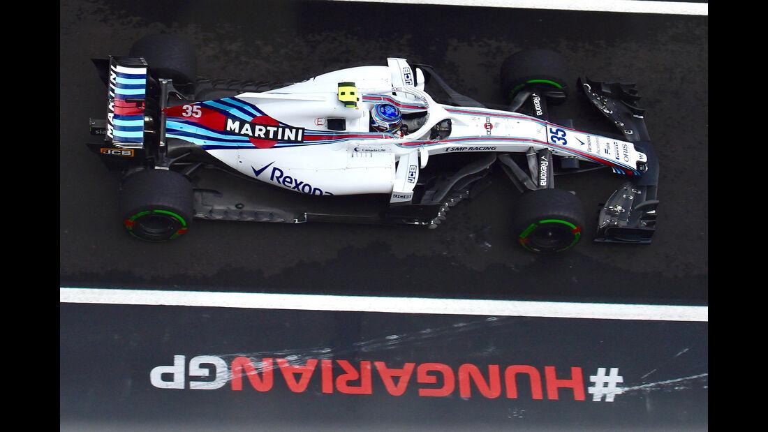 Sergey Sirotkin - GP Ungarn 2018