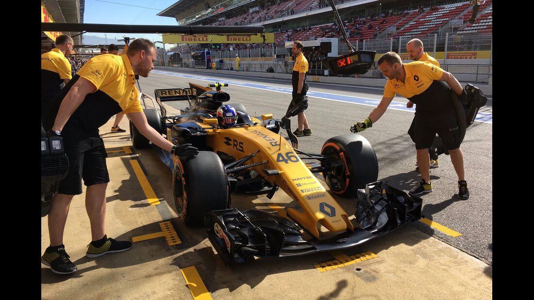 Sergey Sirotkin - Renault - Formel 1 - GP Spanien - 12. Mai 2017