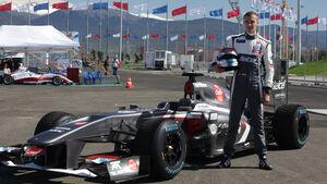 Sergey Sirotkin - Sauber-Demo Sochi 2013