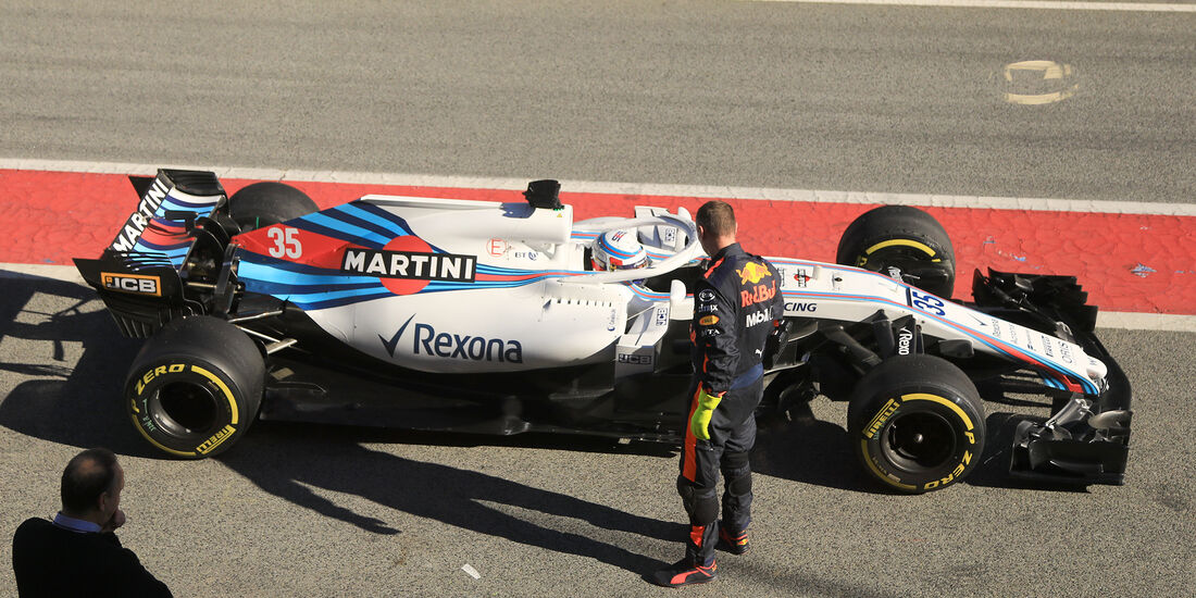 Sergey Sirotkin - Williams - F1-Test - Barcelona - Tag 5 - 6. März 2018