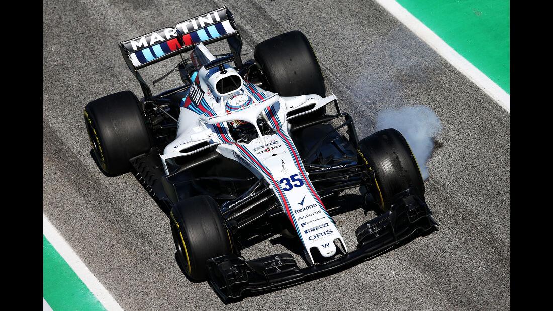 Sergey Sirotkin - Williams - F1-Test - Barcelona - Tag 6 - 7. März 2018