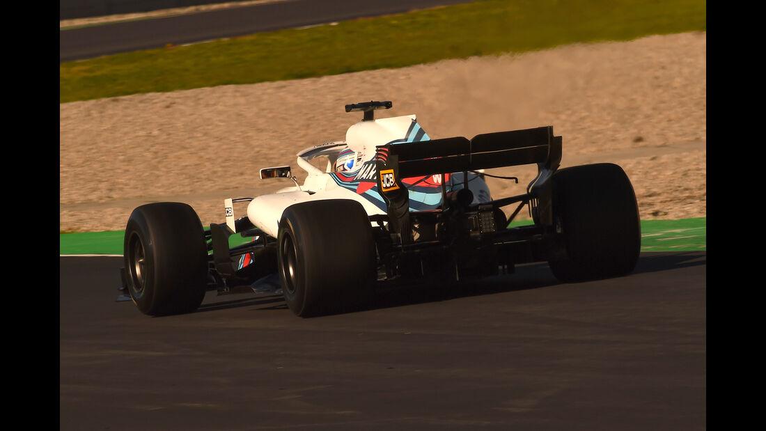 Sergey Sirotkin - Williams - F1-Test - Barcelona - Tag 8 - 9. März 2018
