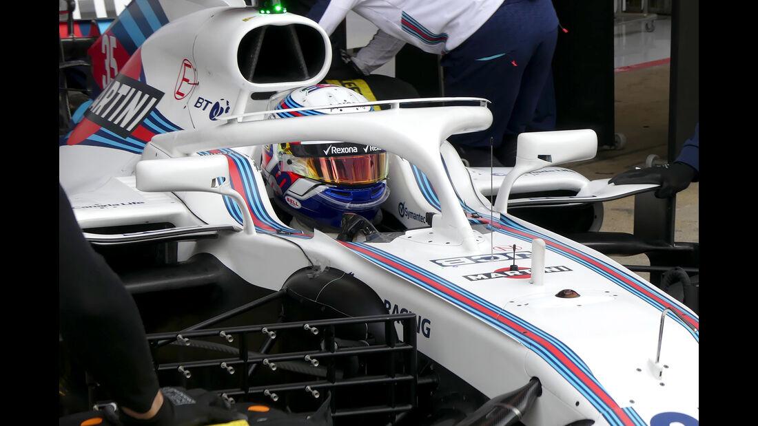 Sergey Sirotkin - Williams - Ferrari - F1-Test - Barcelona - Tag 2 - 27. Februar 2018