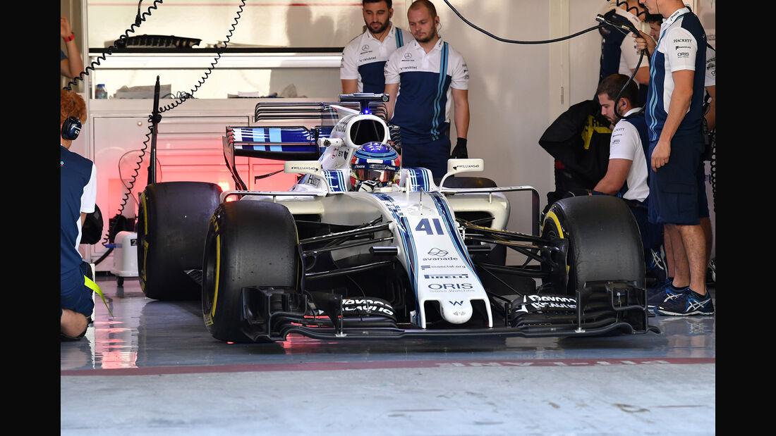 Sergey Sirotkin - Williams - Formel 1 - Abu Dhabi - Test 2 - 29. November 2017