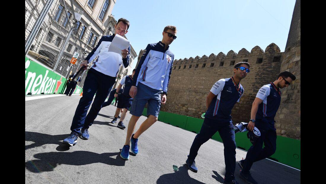 Sergey Sirotkin - Williams - Formel 1 - GP Aserbaidschan - 26. April 2018