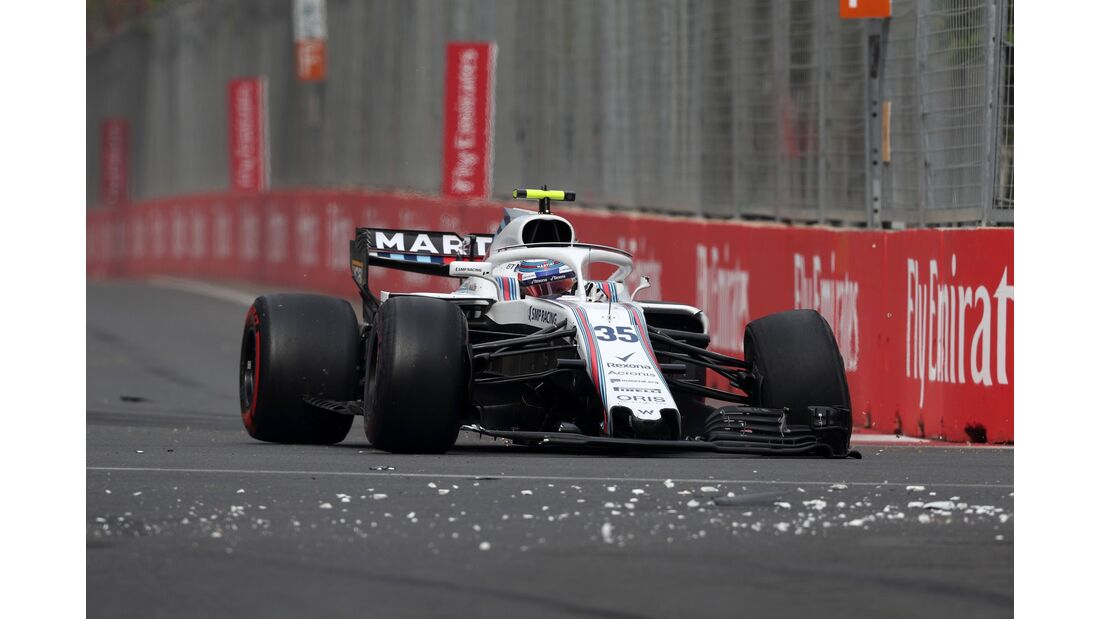 Sergey Sirotkin - Williams - Formel 1 - GP Aserbaidschan - 29. April 2018