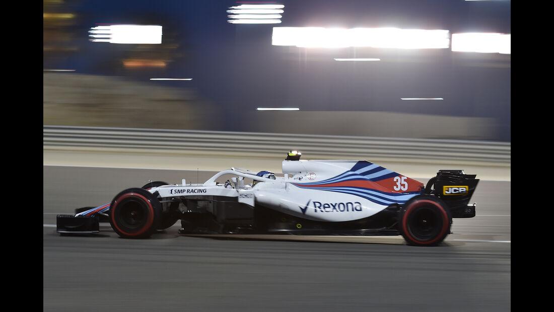 Sergey Sirotkin - Williams - Formel 1 - GP Bahrain - 7. April 2018