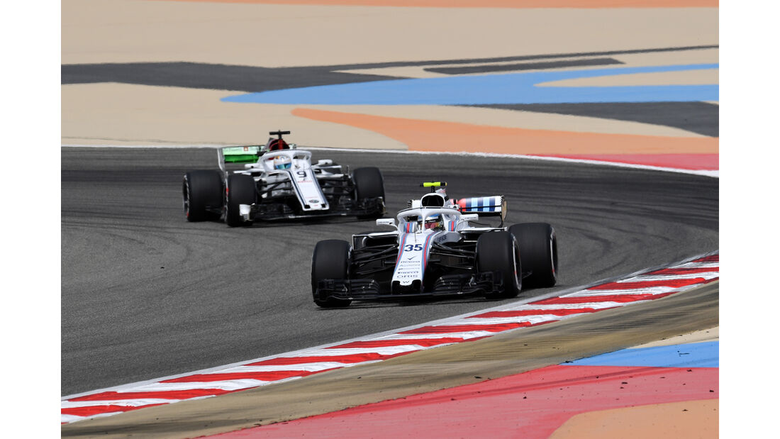 Sergey Sirotkin - Williams - Formel 1 - GP Bahrain - Training - 6. April 2018