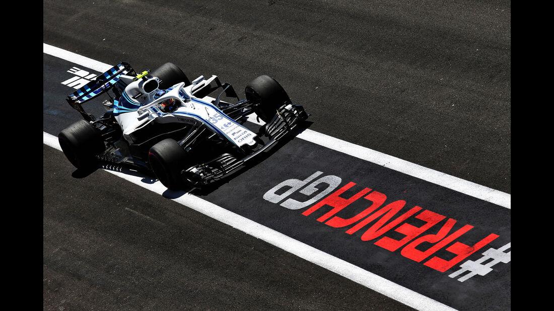 Sergey Sirotkin - Williams - Formel 1 - GP Frankreich - Circuit Paul Ricard - 22. Juni 2018