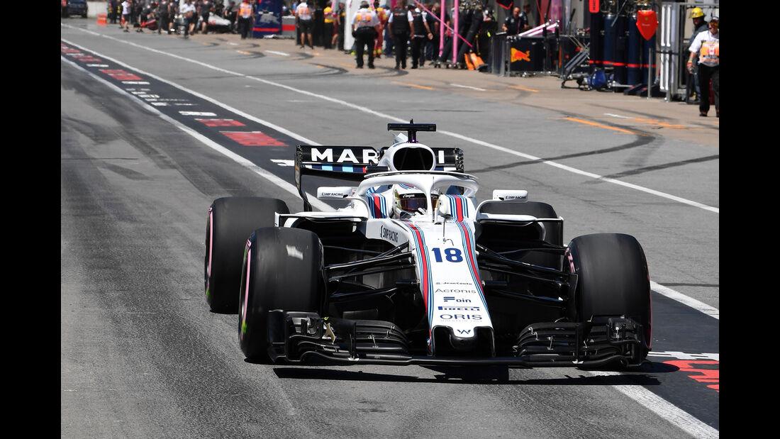 Sergey Sirotkin - Williams - Formel 1 - GP Kanada - Montreal - 9. Juni 2018