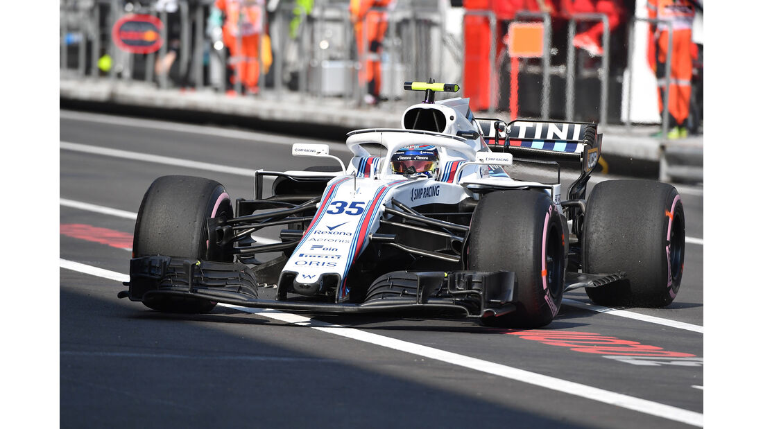 Sergey Sirotkin - Williams  - Formel 1 - GP Mexiko - 26. Oktober 2018