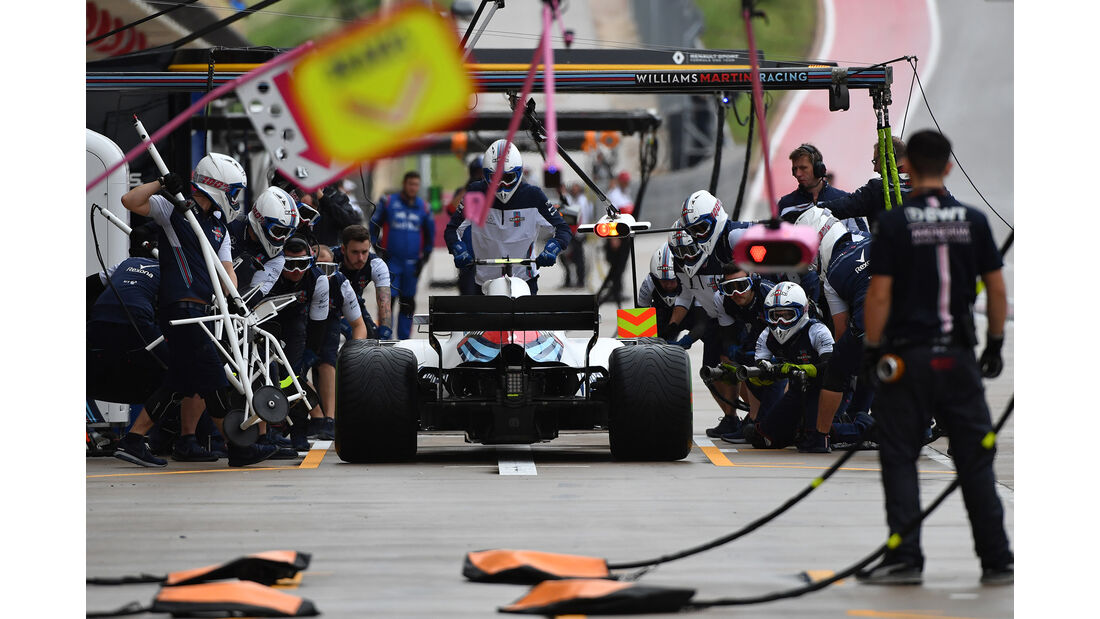 Sergey Sirotkin - Williams - Formel 1 - GP USA - 19. Oktober 2018