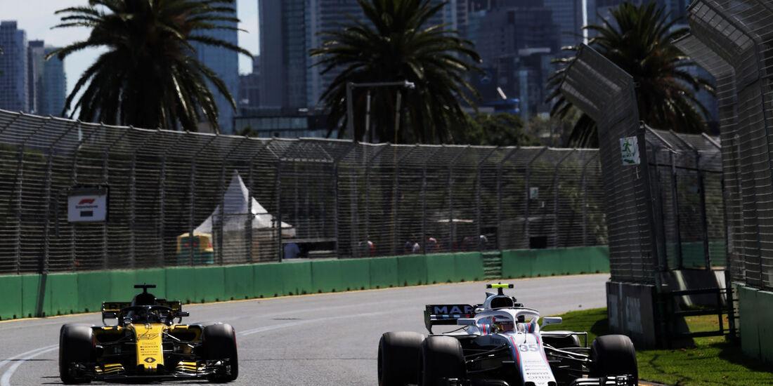 Sergey Sirotkin - Williams - GP Australien 2018 - Melbourne - Albert Park - Freitag - 23.3.2018