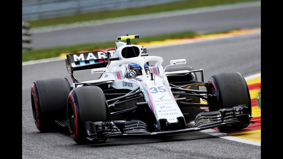 Sergey Sirotkin - Williams - GP Belgien - Spa-Francorchamps - 24. August 2018