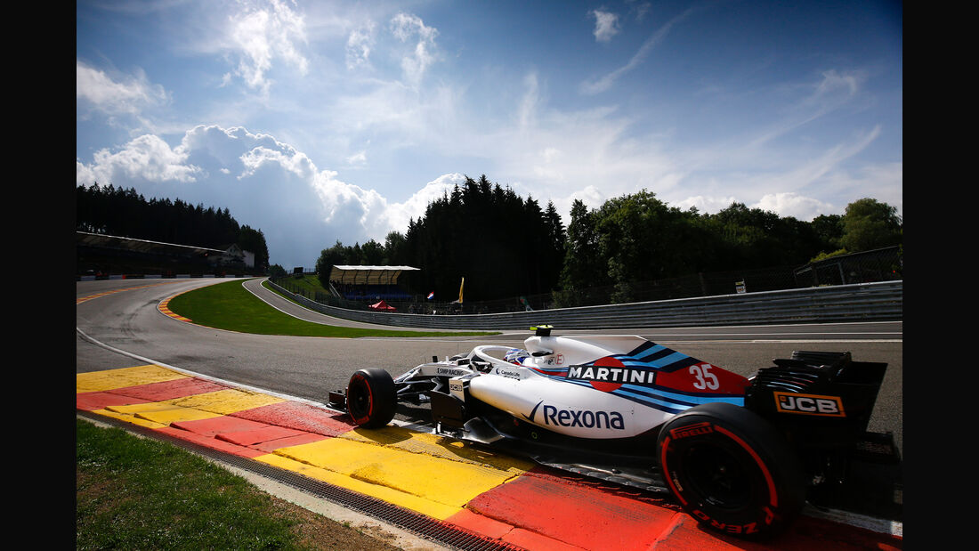 Sergey Sirotkin - Williams - GP Belgien - Spa-Francorchamps - 24. August 2018