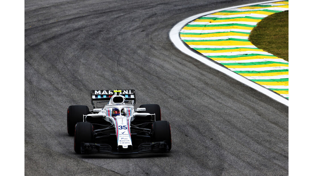 Sergey Sirotkin - Williams - GP Brasilien - Interlagos - Formel 1 - Freitag - 9.11.2018