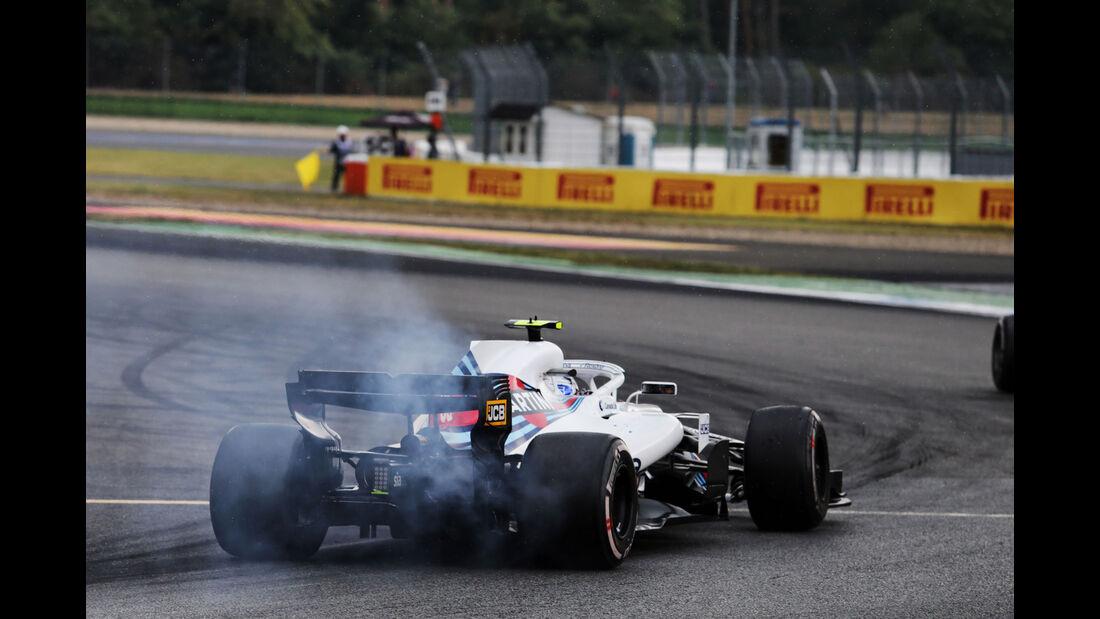 Sergey Sirotkin - Williams - GP Deutschland 2018 - Rennen