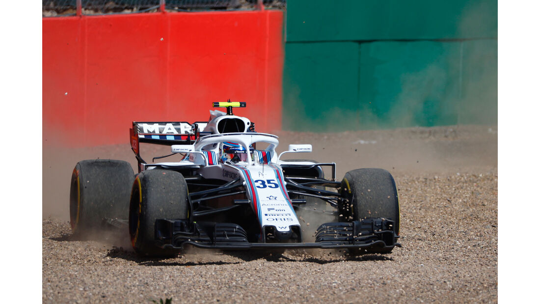 Sergey Sirotkin - Williams - GP England - Silverstone - Formel 1 - Freitag - 6.7.2018