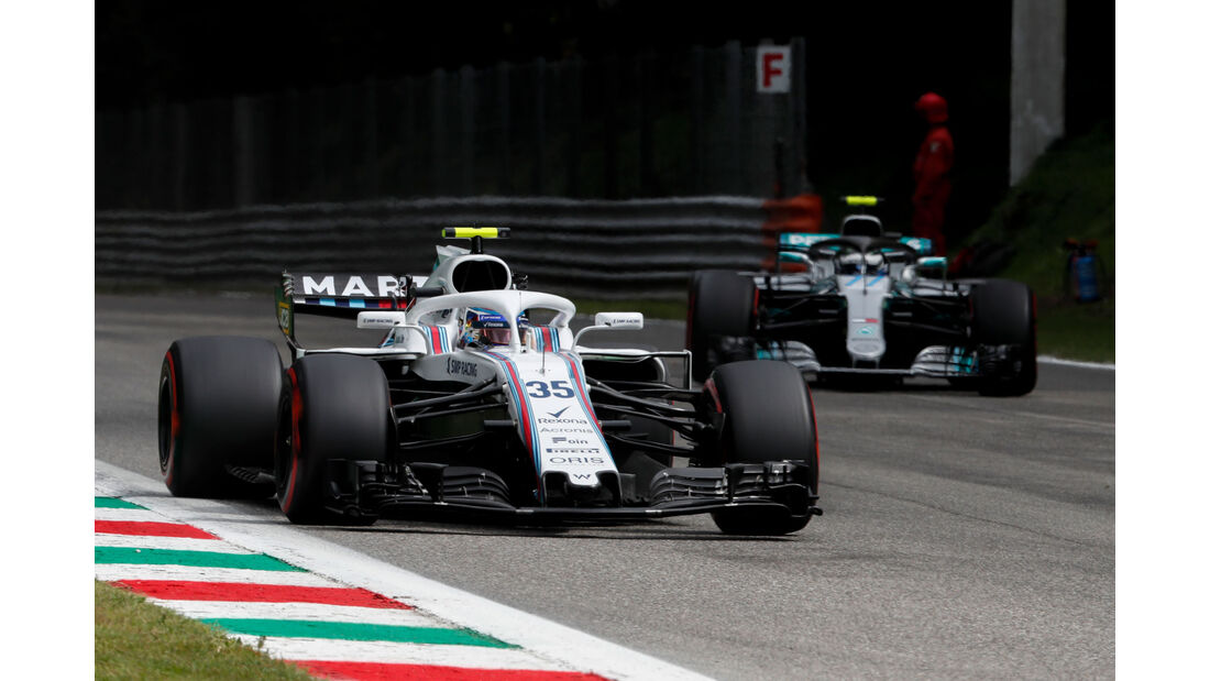 Sergey Sirotkin - Williams - GP Italien 2018 - Monza