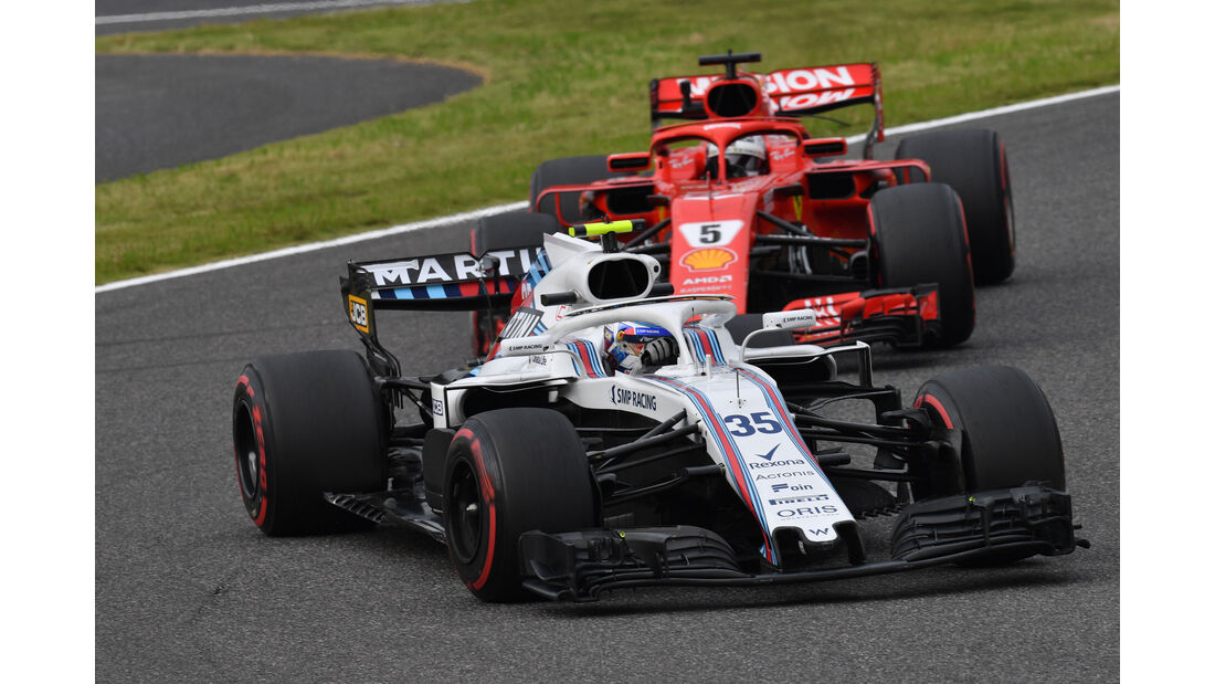 Sergey Sirotkin - Williams - GP Japan - Suzuka - Formel 1 - Freitag - 5.10.2018