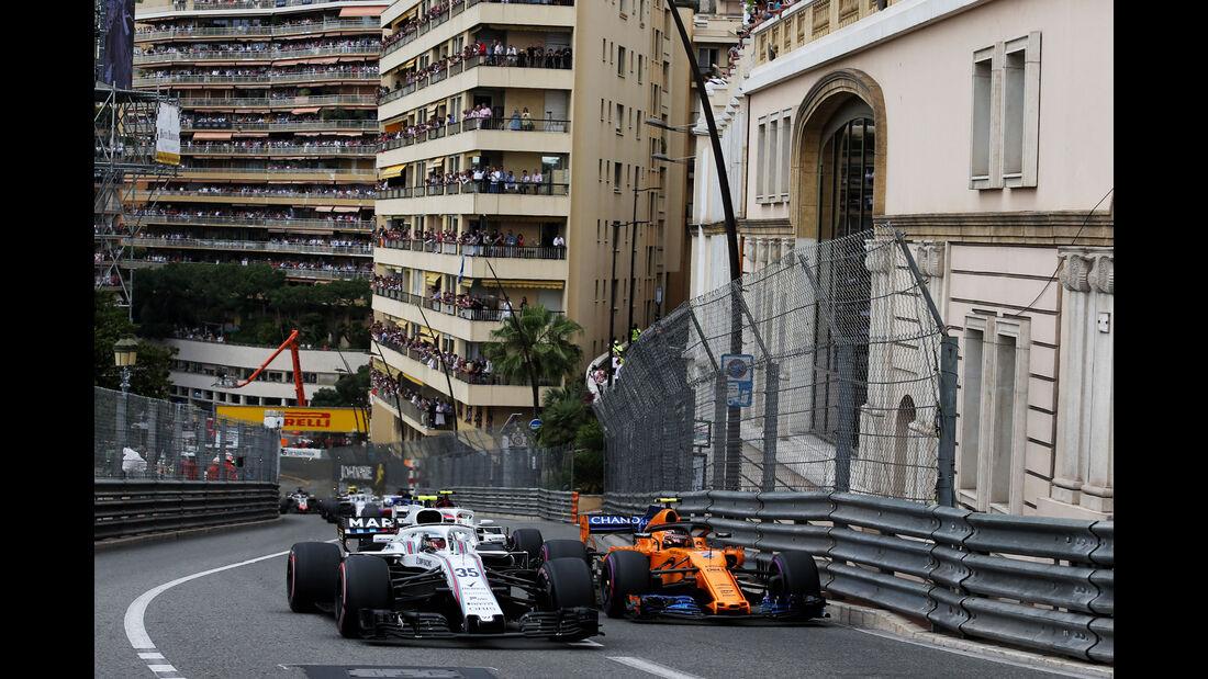 Sergey Sirotkin - Williams - GP Monaco 2018 - Rennen