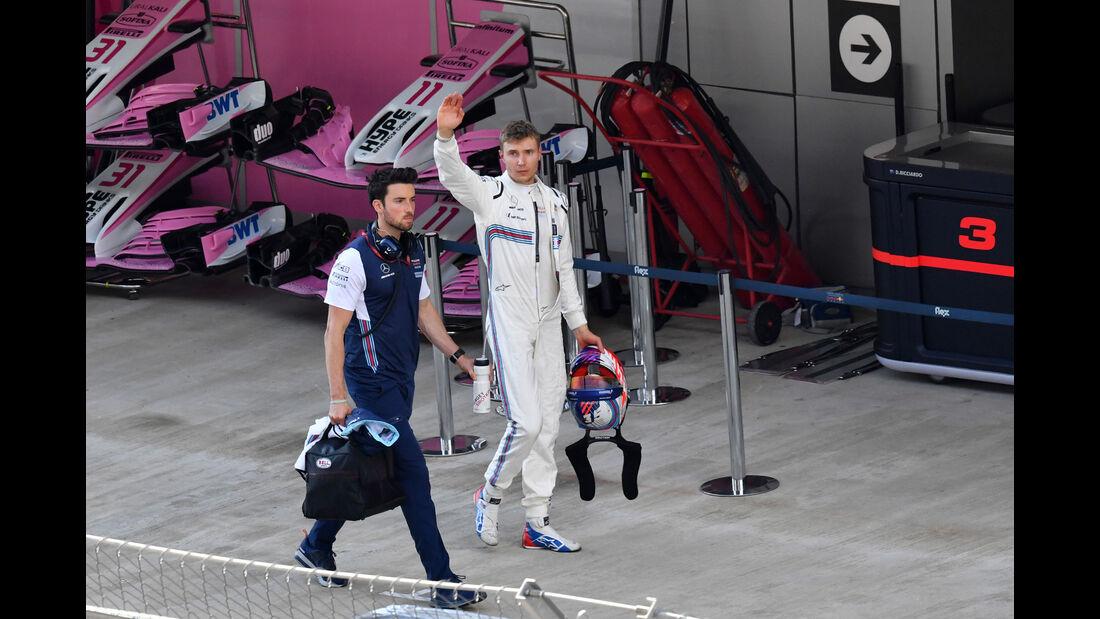 Sergey Sirotkin - Williams - GP Russland 2018 - Sotschi - Qualifying