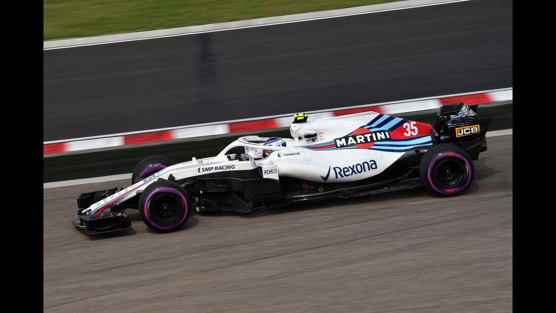 Sergey Sirotkin - Williams - GP Ungarn - Budapest - Formel 1 - Freitag - 27.7.2018