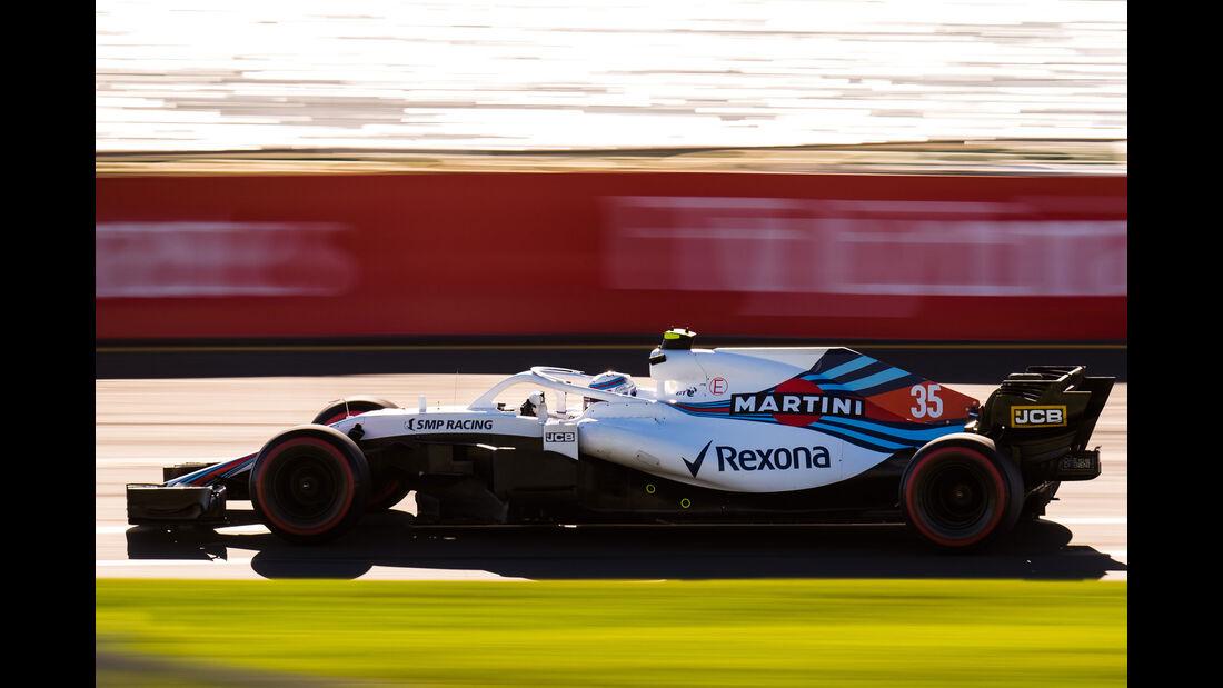 Sergey Sirotkin - Williams - Qualifying - GP Australien 2018 - Melbourne