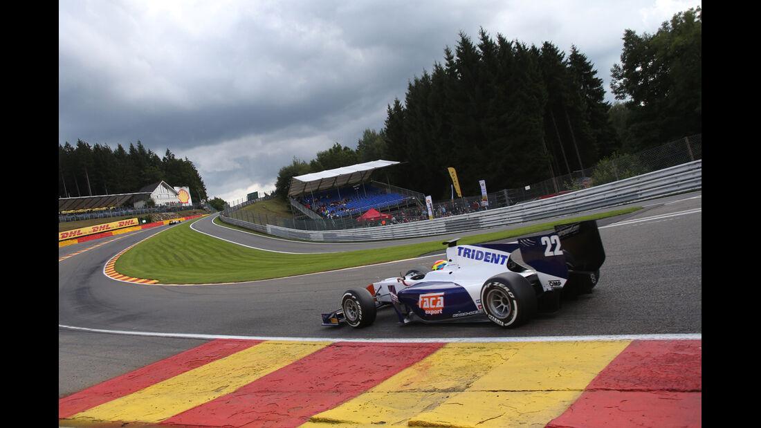 Sergio Canamasas, Trident, GP Belgien, GP2, 2014