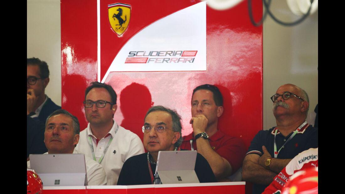 Sergio Marchionne - Ferrari - GP China 2016 - Shanghai - Rennen