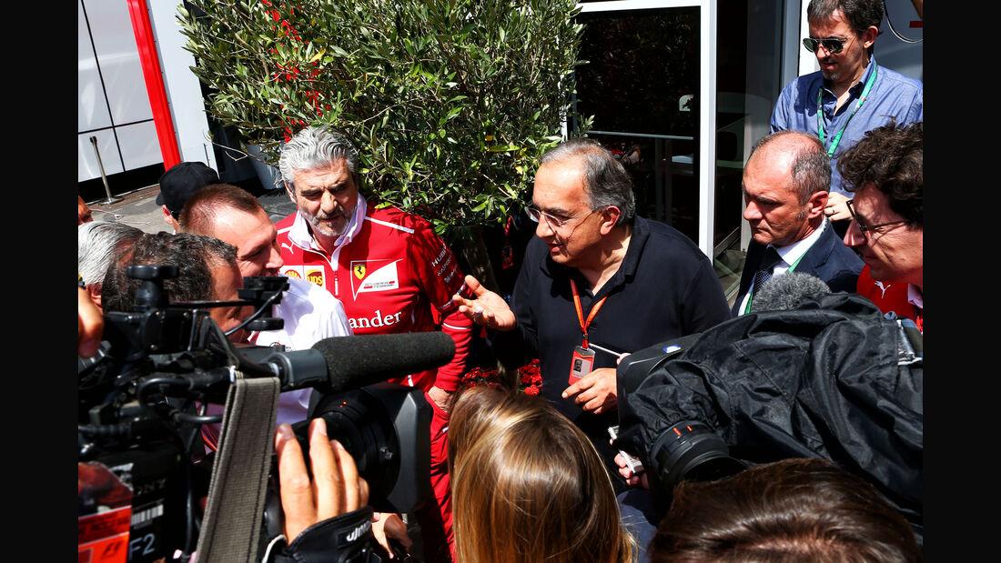 Sergio Marchionne - Maurizio Arrivabene - Ferrari