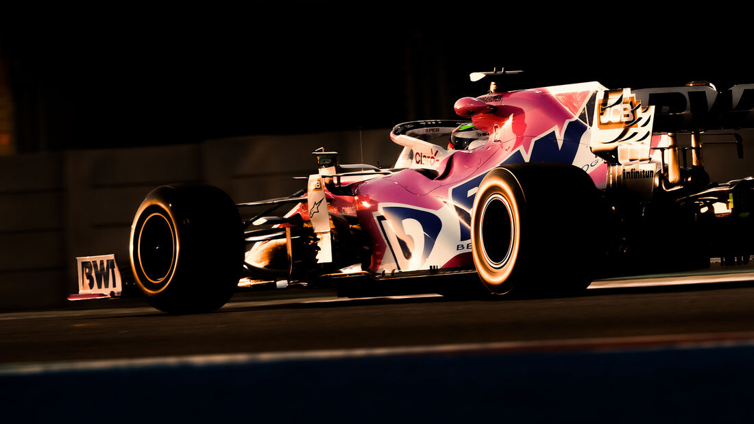 Sergio Peret - Racing Point - GP Abu Dhabi 2020