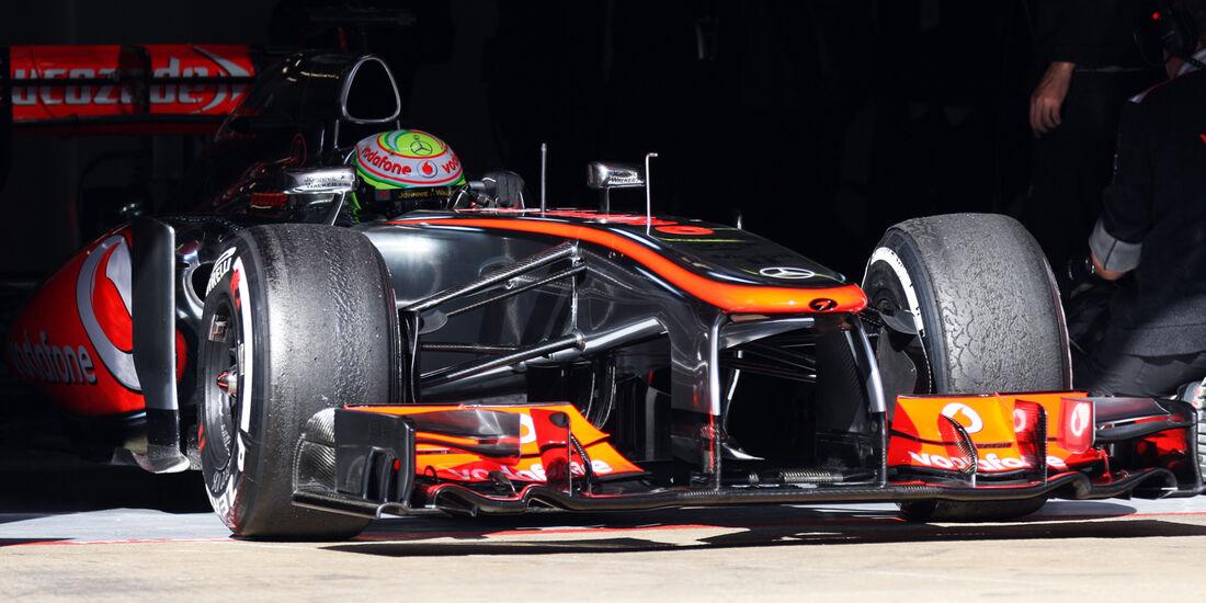 Sergio Perez - Barcelona F1 Test 2013