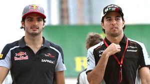 Sergio Perez & Carlos Sainz - GP Aserbaidschan 2016