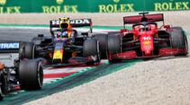 Sergio Perez - Charles Leclerc - GP Österreich 2021 - Spielberg - Rennen