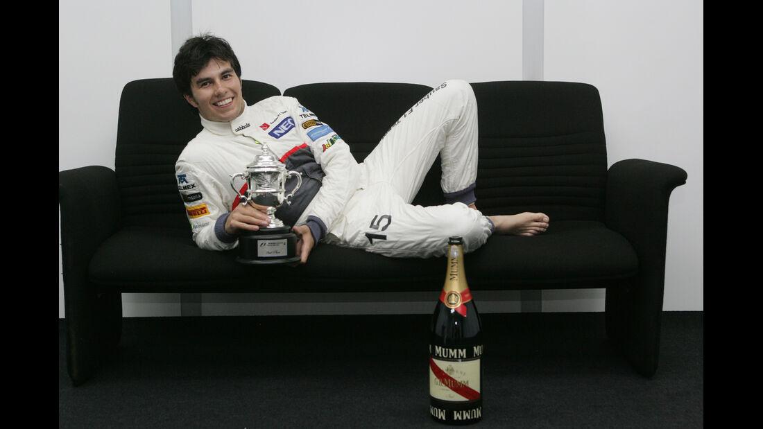 Sergio Perez F1 Fun Pics 2012