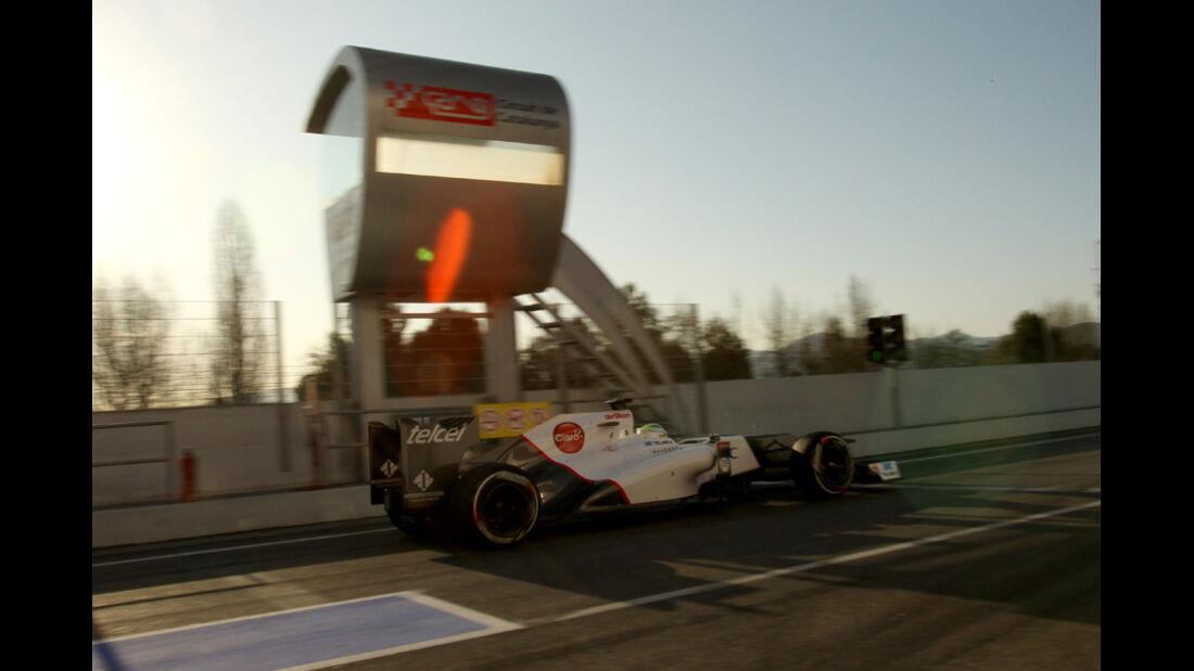 Sergio Perez - F1-Test - Barcelona 2012