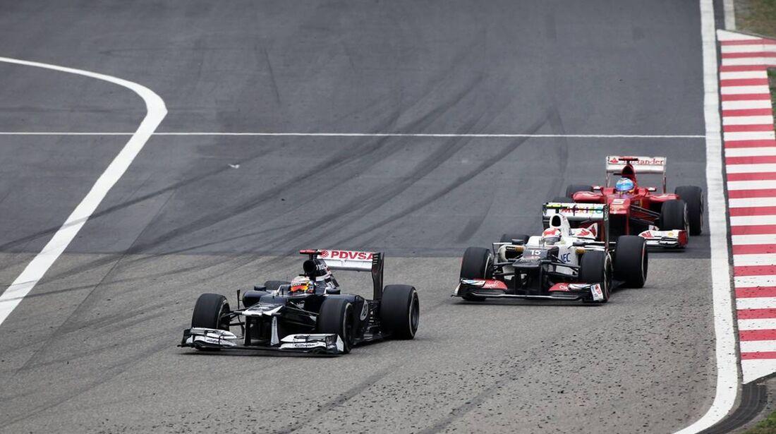Sergio Perez - Fernando Alonso  - Formel 1 - GP China - 15. April 2012