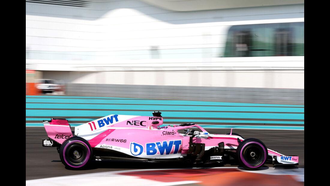 Sergio Perez - Force India - F1-Testfahrten - Abu Dhabi - 27.11.2018