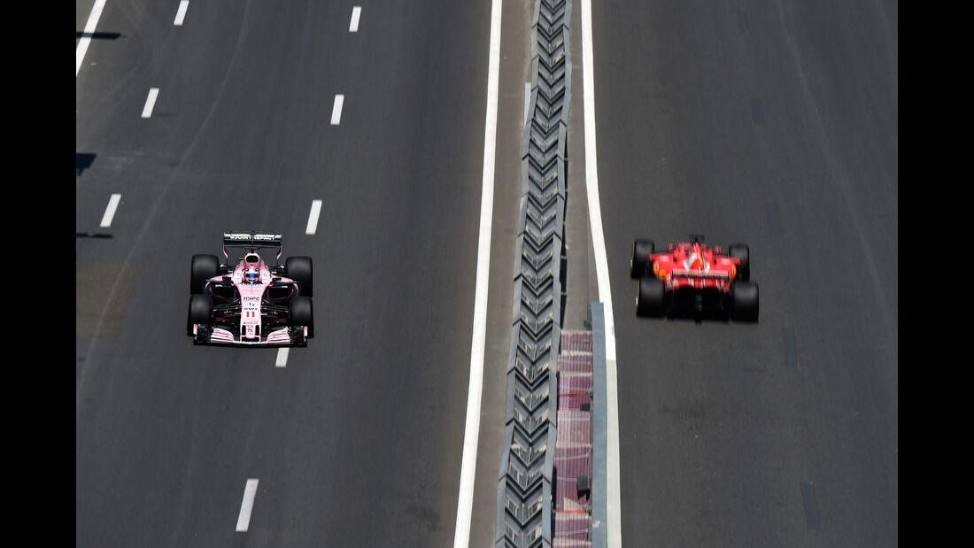 Sergio Perez - Force India -  Formel 1