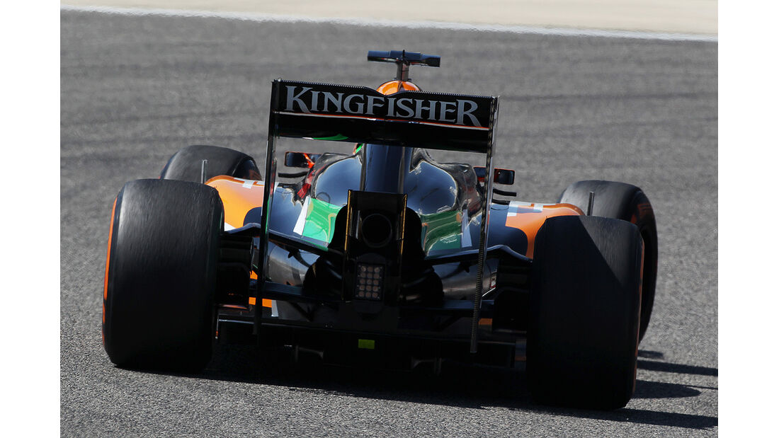 Sergio Perez - Force India - Formel 1 - Bahrain - Test - 21. Februar 2014