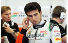 Sergio Perez - Force India - Formel 1- Bahrain - Test - 21. Februar 2014