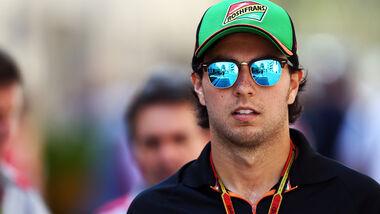 Sergio Perez - Force India - Formel 1 - GP Abu Dhabi - 21. November 2014