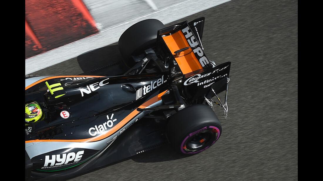 Sergio Perez - Force India - Formel 1 - GP Abu Dhabi - 25. November 2016