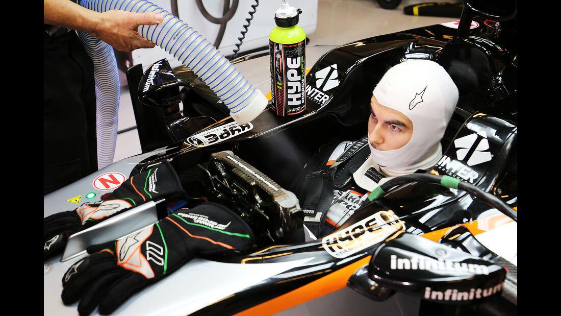 Sergio Perez - Force India - Formel 1 - GP Abu Dhabi - 26. November 2016
