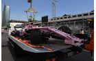 Sergio Perez - Force India - Formel 1 - GP Aserbaidschan 2017 - Training - Freitag - 23.6.2017