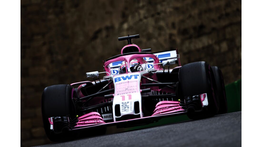 Sergio Perez - Force India - Formel 1 - GP Aserbaidschan - 28. April 2018