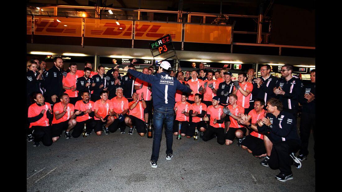 Sergio Perez - Force India - Formel 1 - GP Aserbaidschan - 29. April 2018