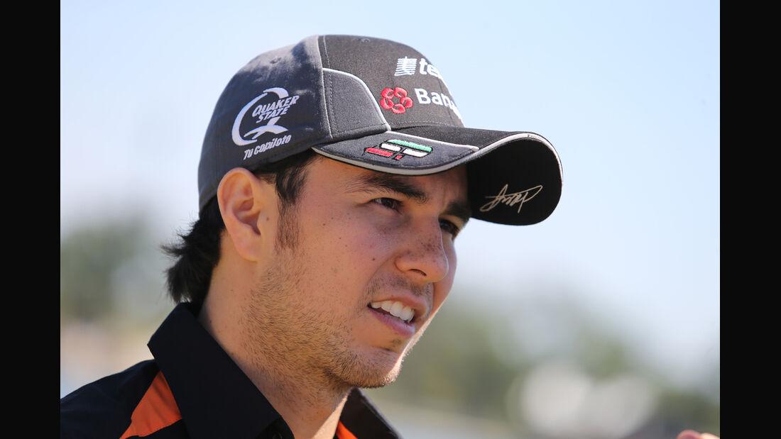 Sergio Perez - Force India - Formel 1 - GP Australien - Melbourne - 11. März 2015