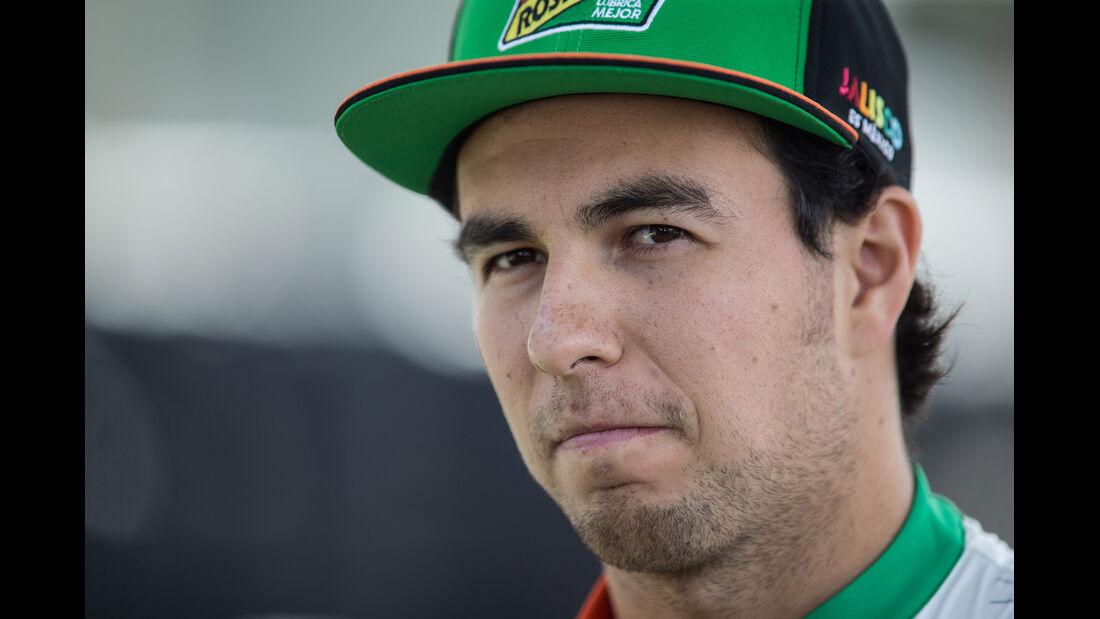 Sergio Perez - Force India - Formel 1 - GP Australien - Melbourne - 13. März 2014
